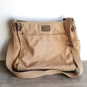 Fossil Boho Hippy Shoulder / Crossbody Bag
